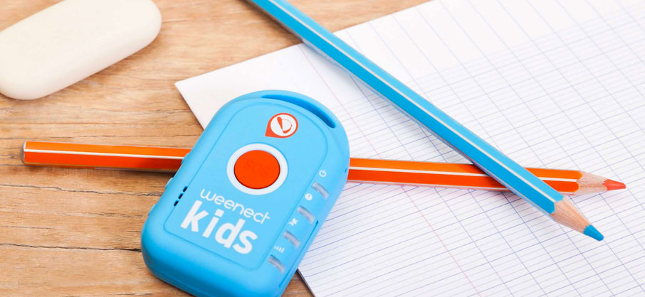 Weenect Kids tracker med ringfunktion